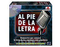Juego al pie de la letra con DVD - juego oficial de antena 3